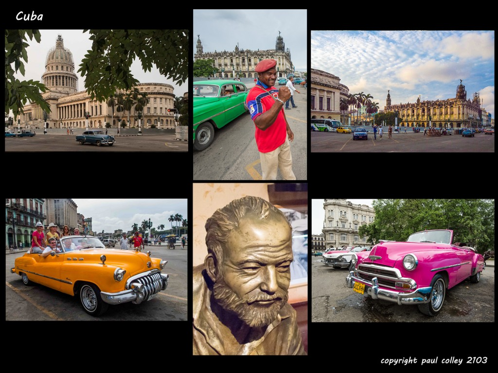 Havana's pulse of life: classic cars & salsa bars, amazing people & and colonial architecture.  Hemmingway loved it...